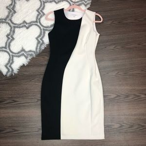 Calvin Klein Scuba Dress Size 8